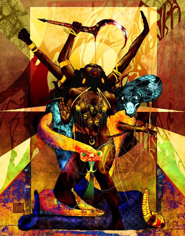 Kali Evocation_sealed by MicahBlack