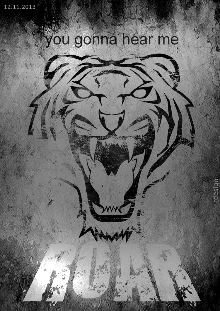 Poster design deviantart - Roar Poster Design 2013 By Sunshine7068