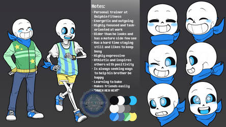 Outstory Character - Swap Sans Reference