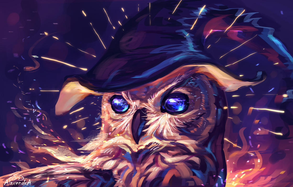 Night Owl by AlaxendrA