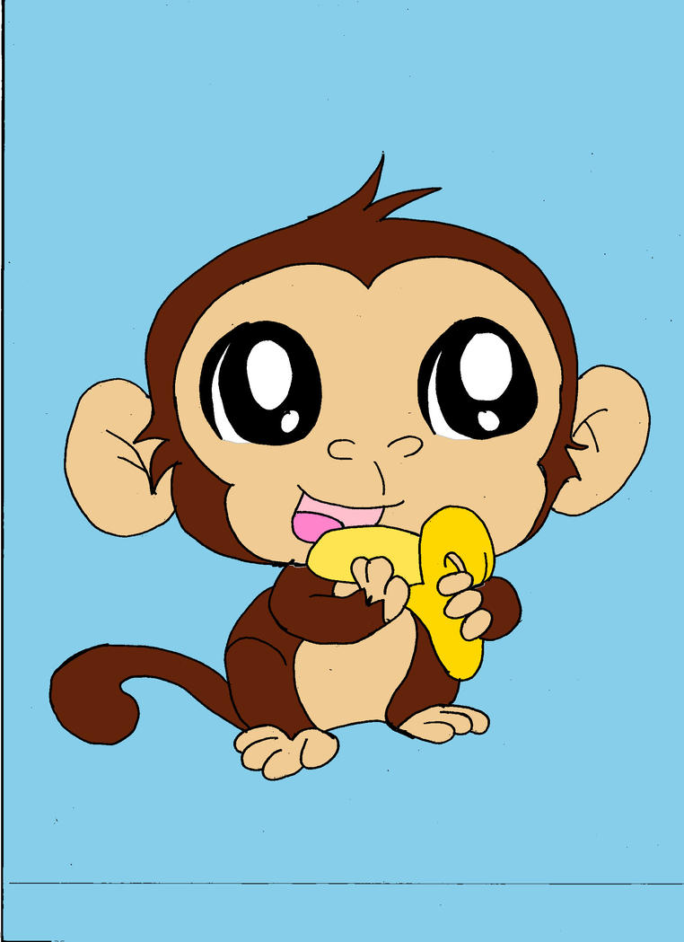 Cute Monkey by monkey-ninja148 on DeviantArt
