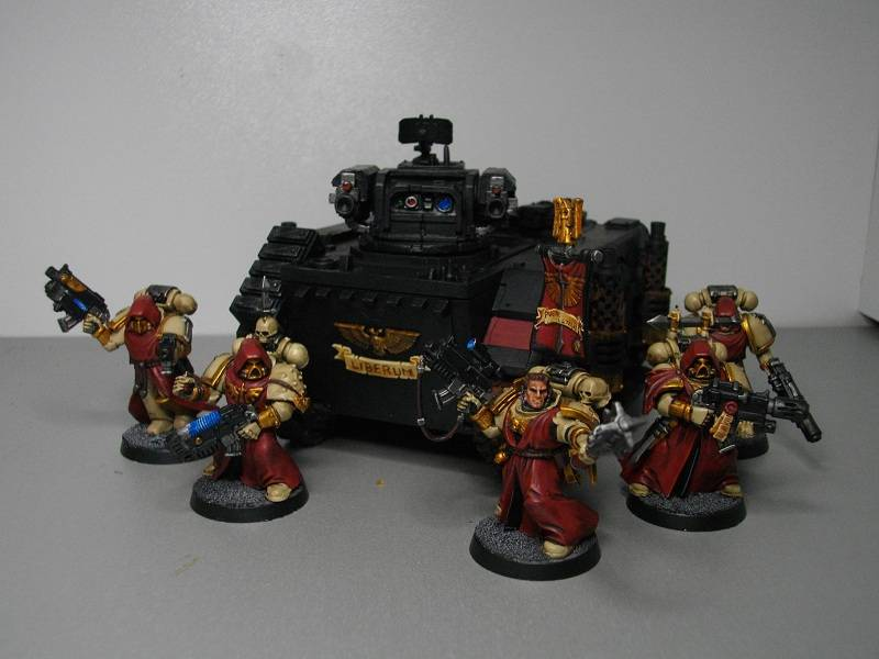 My Sternguard Veteran Squad by TheWayOfTempest