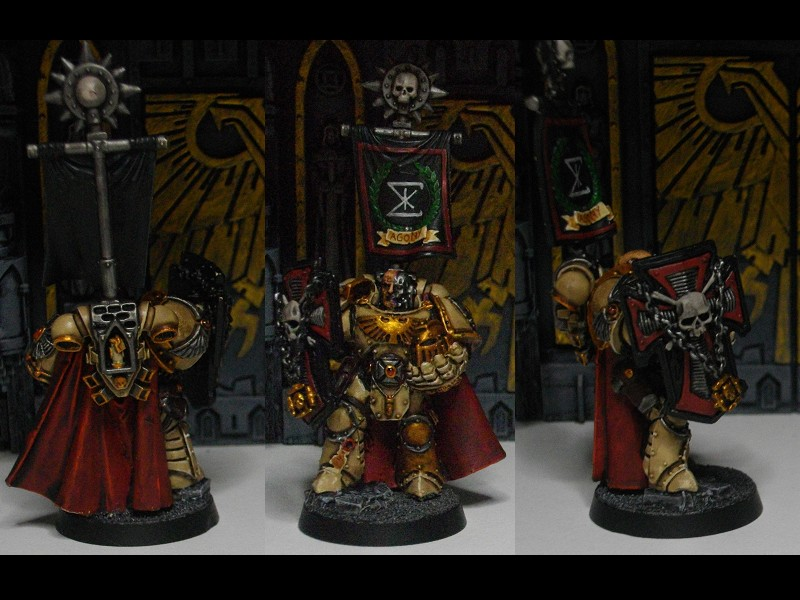 Space Marines HQ by TheWayOfTempest