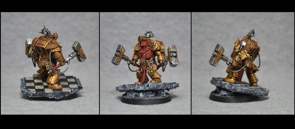 Chapter Master in Terminator Armour by TheWayOfTempest