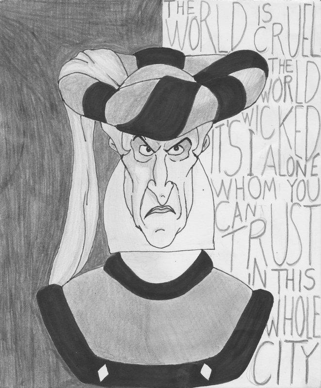 Judge Claude Frollo by BioGhost50