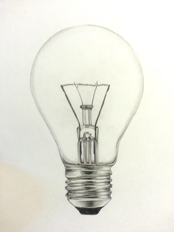 Light Bulb Drawing Light Bulb Drawing Tumblr