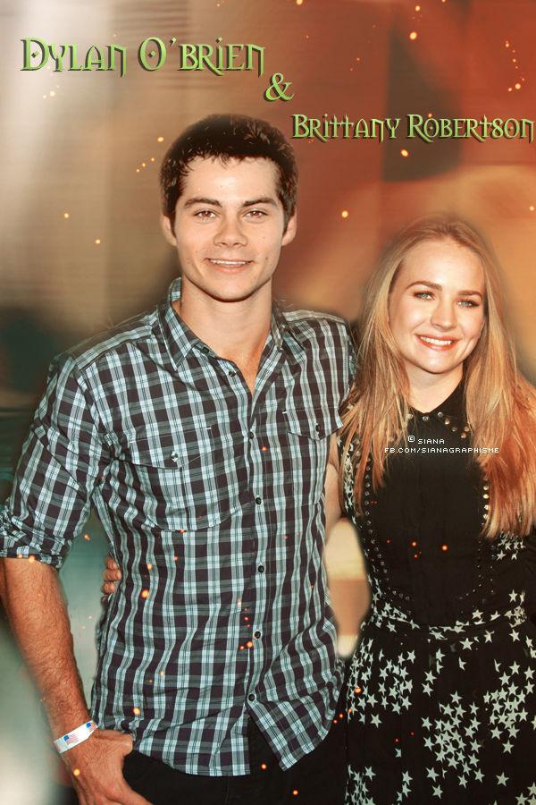 Dylan o Brien dating Britt