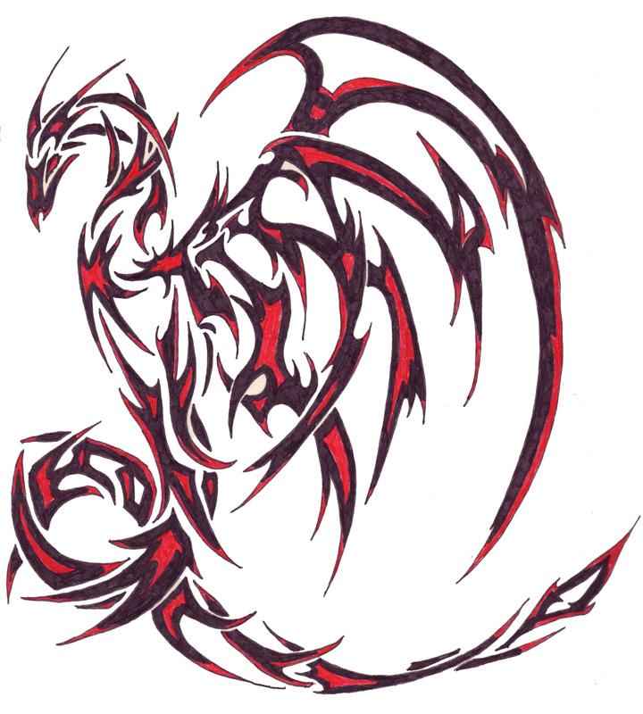 Dragon on my Shoulder - shoulder tattoo