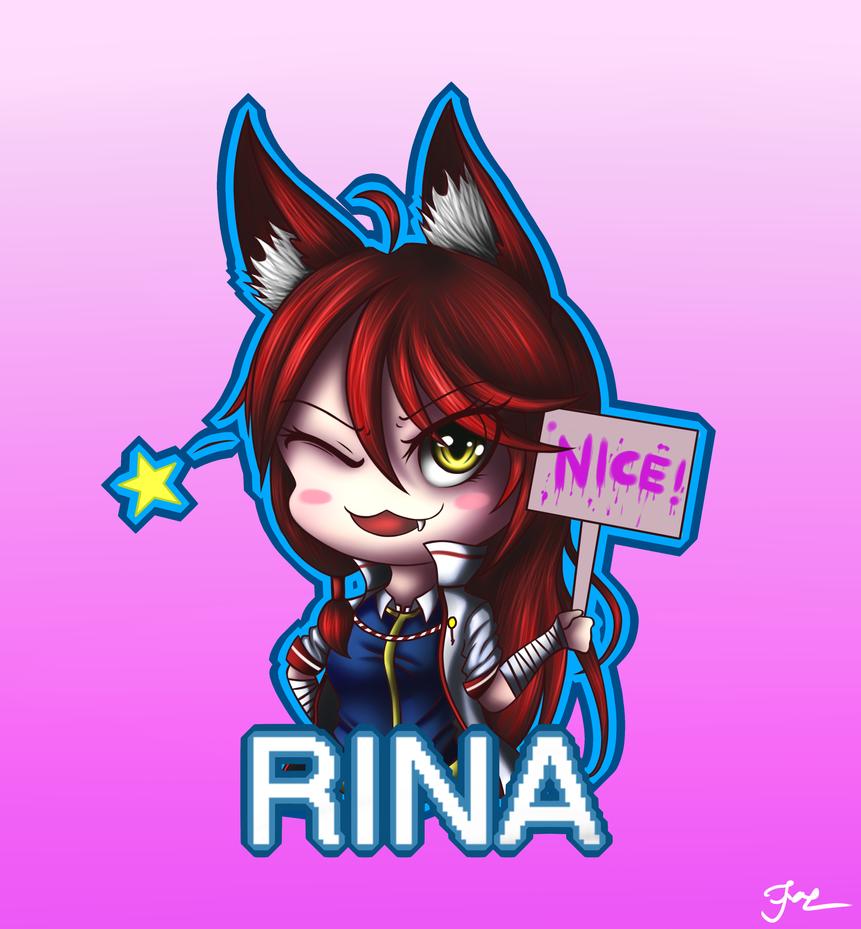 CHIBI RINA by HoodieFoxy