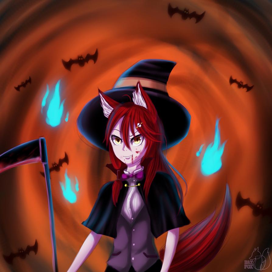 Halloween Rina by HoodieFoxy