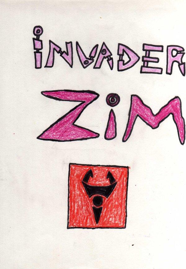 Invader Zim Logo Irken Flag By YoungNastyman88
