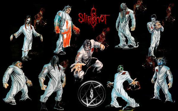 slipknot cartoon Gallery