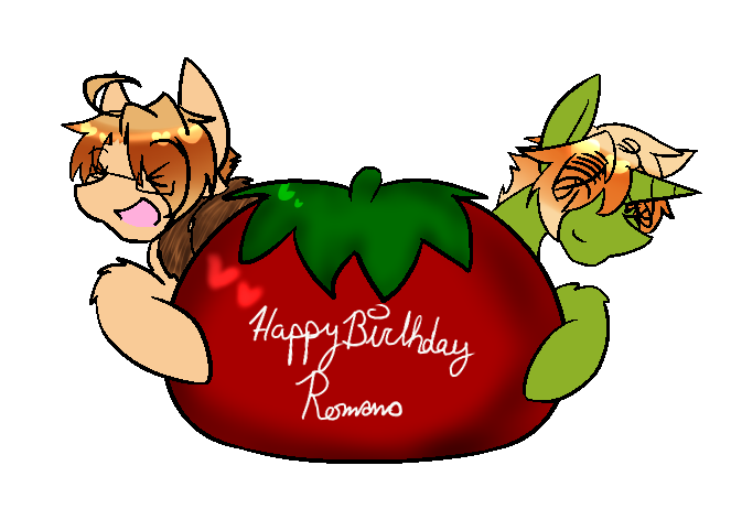 Happy birthday Italia~! by Ask-Pony-USUK