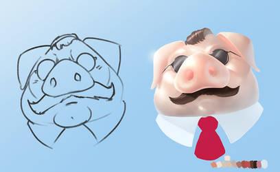 Pixar Porco