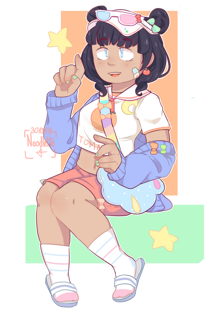 Pastel Girl Challenge by Noodlette