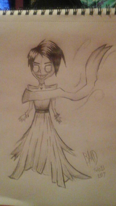 Creepy Bride by ImBandTrashTBH