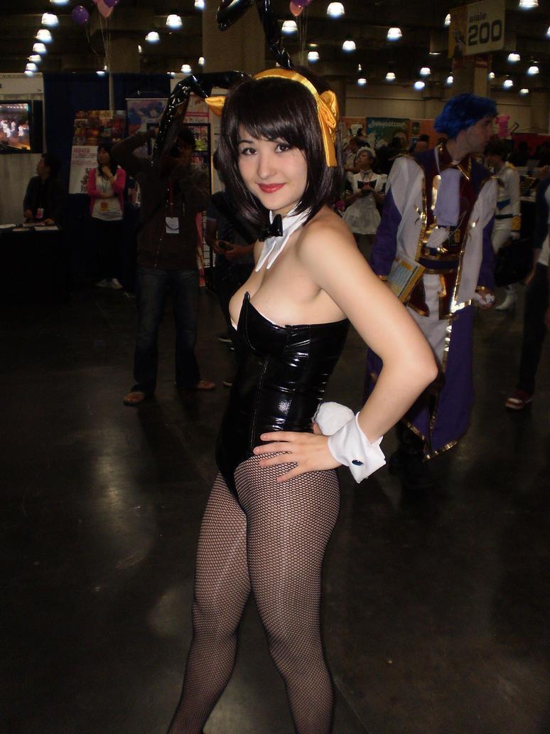 suzumiya bunny cosplay Haruhi