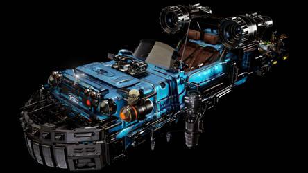 Toyspeeder Blue2 by ArtDisclosure
