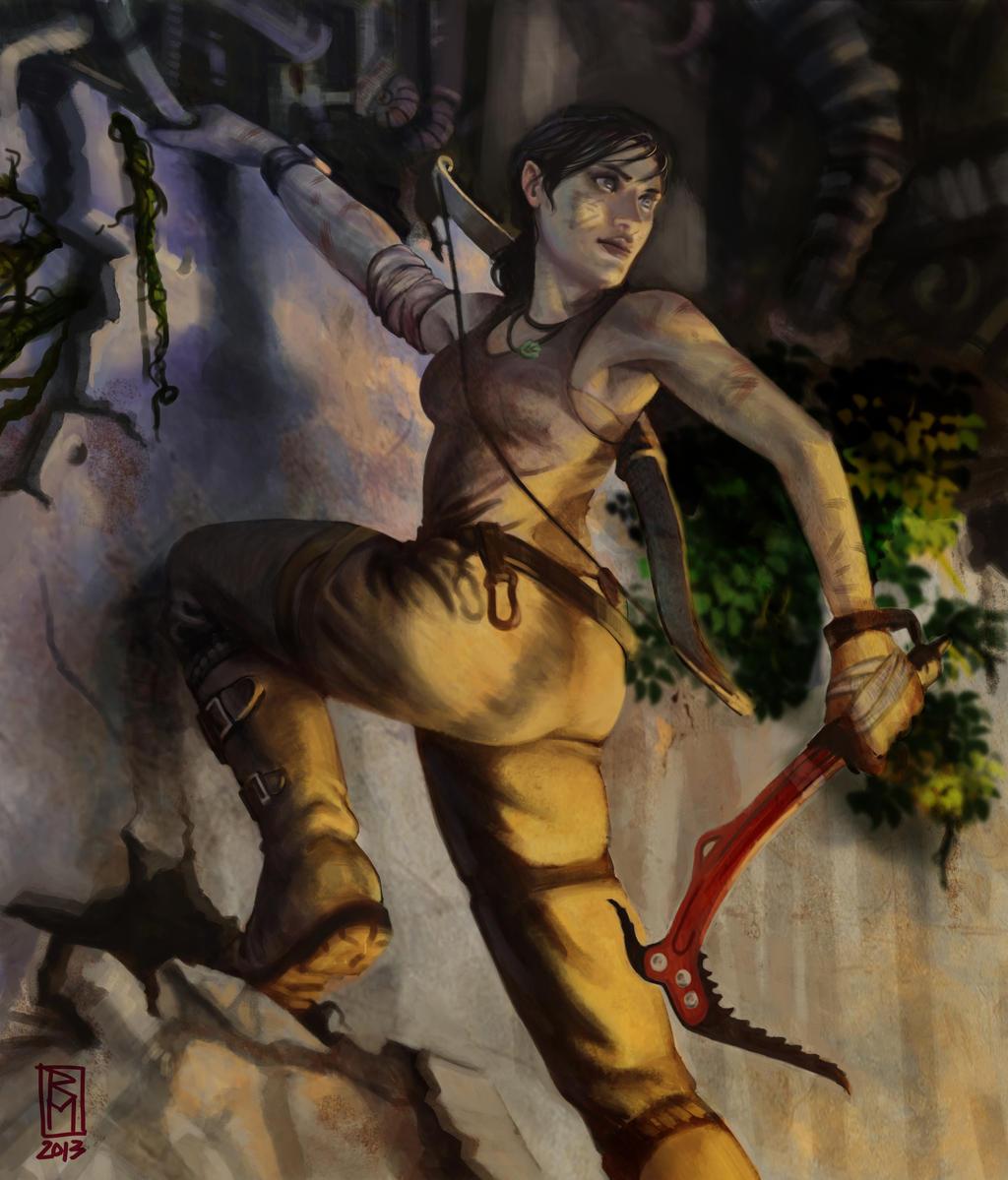 Tomb Raider 2013 Wallpaper: Lara Croft Entry 02 By RMalijan On DeviantArt