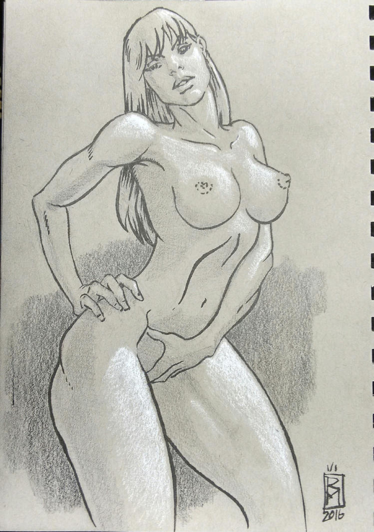 sketchbook drawing by RMalijan