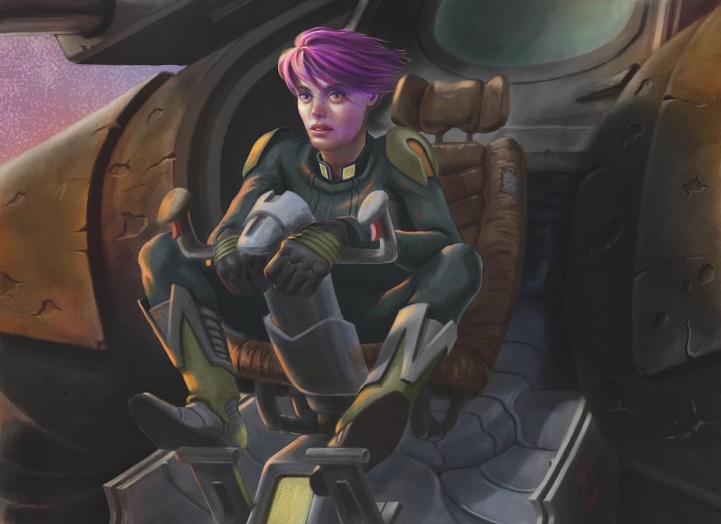 Mech Pilot by RMalijan