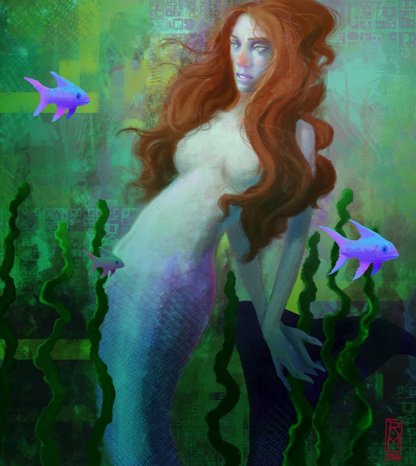 Mermaid by RMalijan