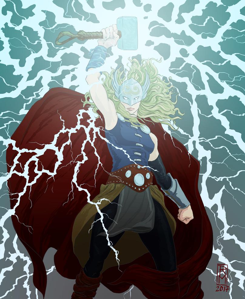 Lady Thor by RMalijan
