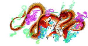 Chinese Dragon by iKata
