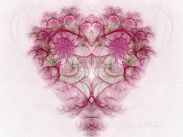 The Pink Heart by DWALKER1047