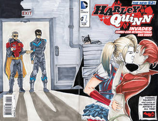 Harley Sketch Cover Commission!!! by BoredToLife