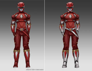 Power Ranger Suit concepts2 by BoredToLife