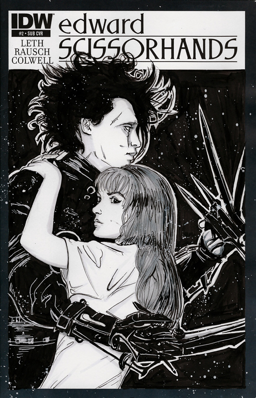 Edward Scissor Hands by BoredToLife