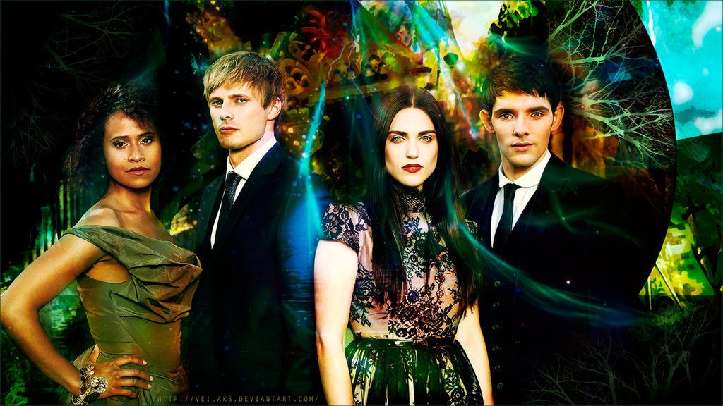 Merlin S Cast By Veilaks On Deviantart