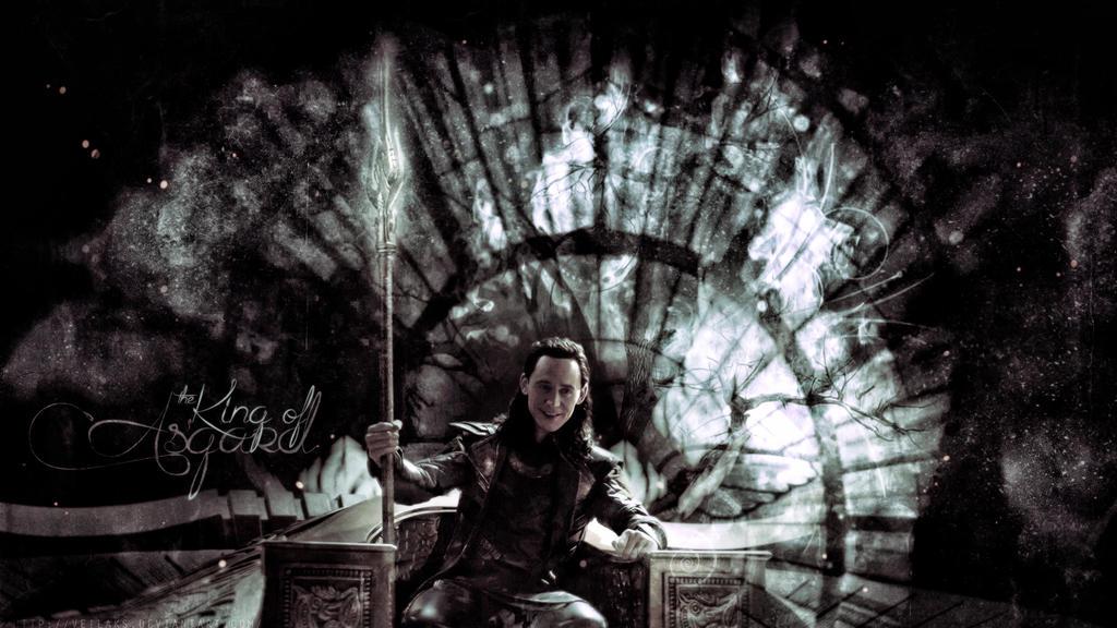 King of Asgard by VeilaKs