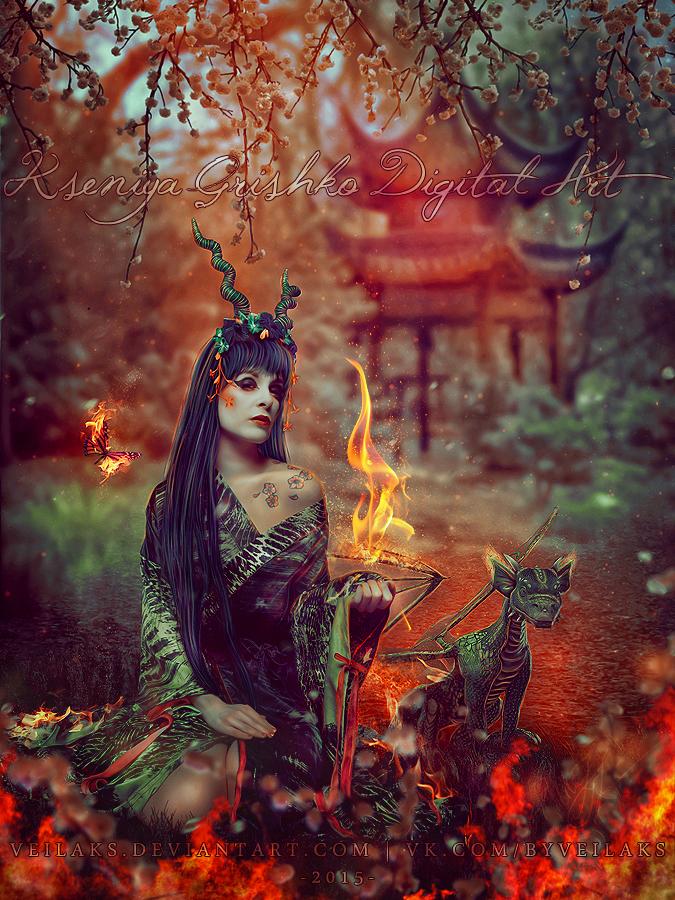 Fire Soul by VeilaKs
