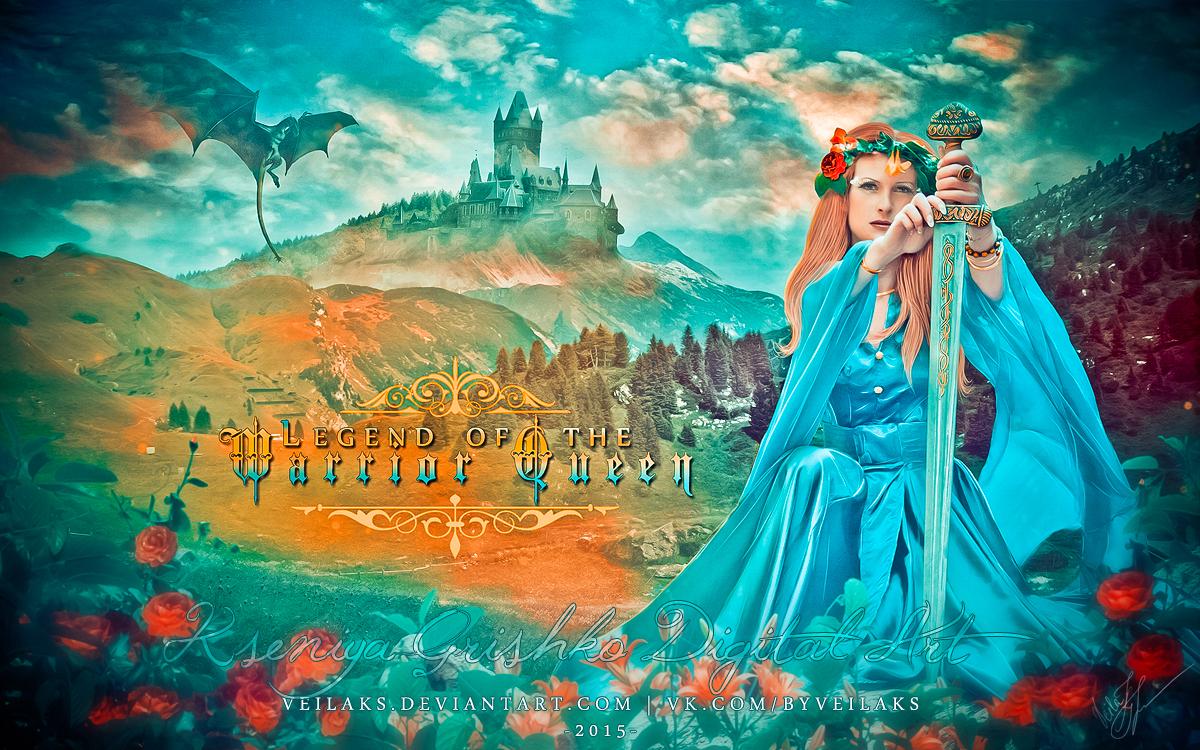 Warrior Queen by VeilaKs
