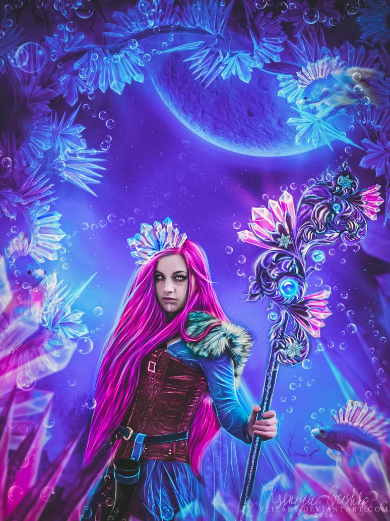 Crystal Magic by VeilaKs
