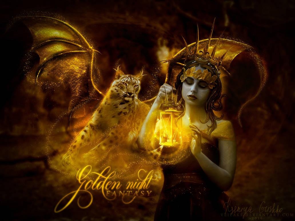 Golden Night Fantasy by VeilaKs