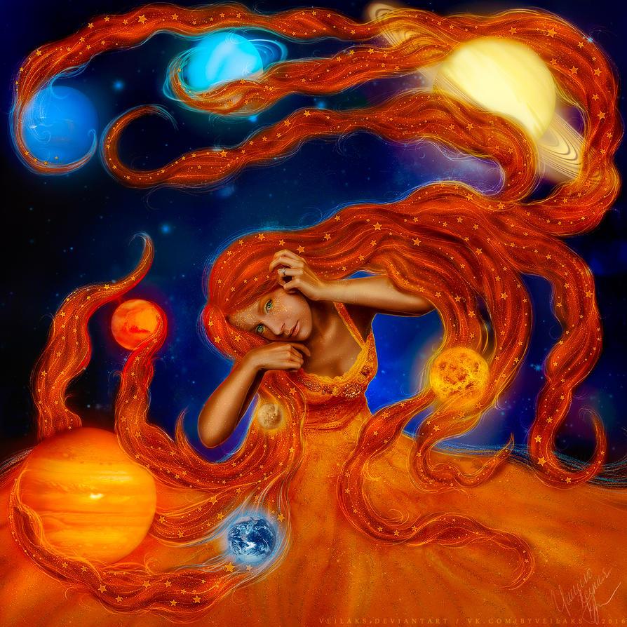 Solar System by VeilaKs
