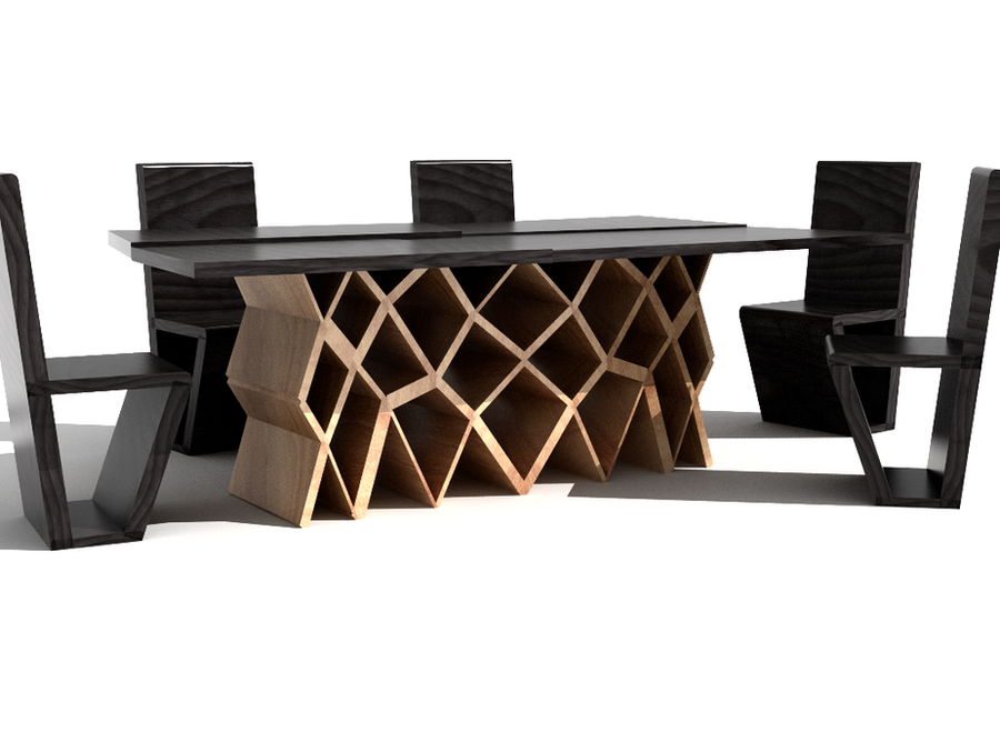 Honeycomb Table And Chairs By Minics ...