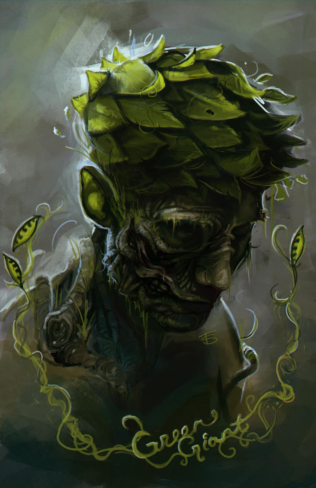 Grotesque - Green Giant by oO-Fotisha-Oo