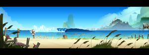 BG dev beach