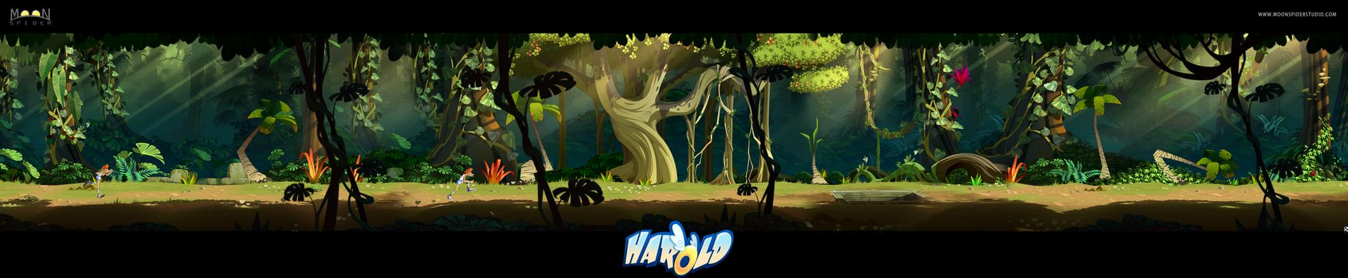 Jungle Design HD Pan by cyrilcorallo