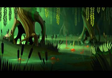 Armello swamp by cyrilcorallo