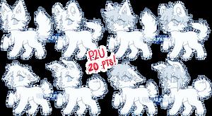 P2U - Huge Chibi Canine Base