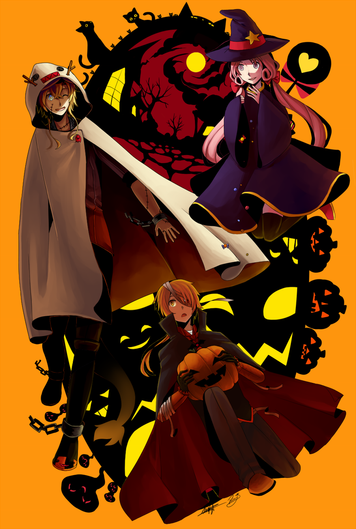Resonance: Halloween by Pokey-Chan