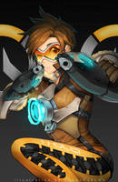 Overwatch - Tracer by PokeyPokums