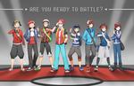 Pokemon (Male Protags)