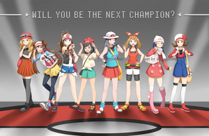 Pokemon (Female Protags) by PokeyPokums