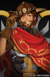Overwatch - McCree by PokeyPokums